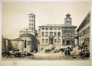 piazza-grande-con-la-statua-di-ferdinando-iii-di-lorena-300x215 La statua di Ferdinando III di Lorena